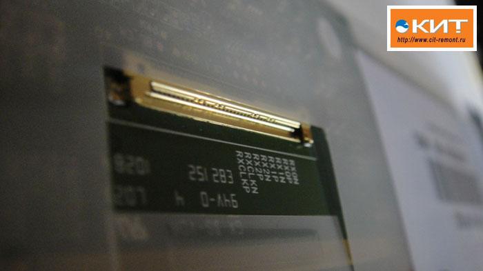 LTN101NT02 разъем матрицы